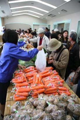 新鮮野菜の販売会